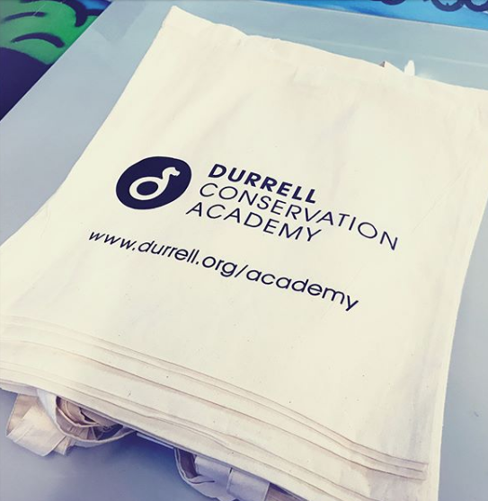 Tote bags printing in Jersey for Charity