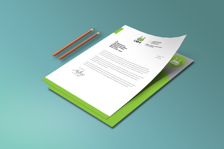 Letterhead stationery printing Jersey CI
