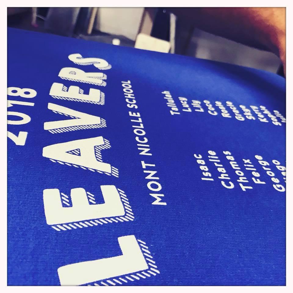 leavers hoodies Jersey