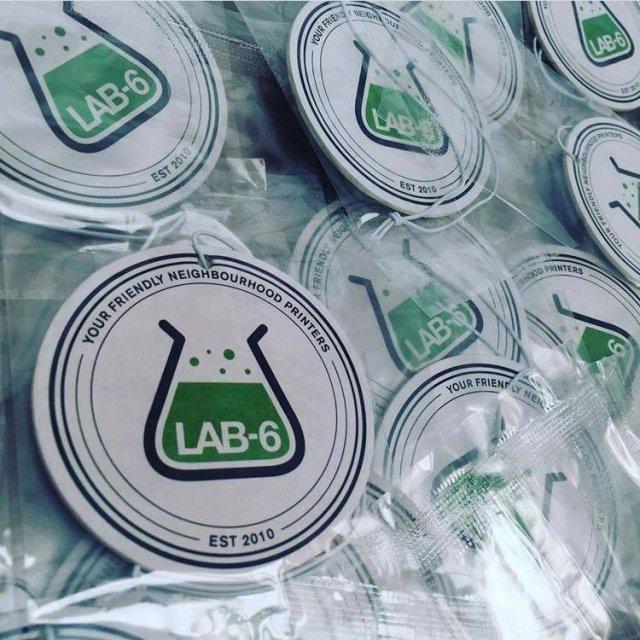 Custom printed car air fresheners in Jersey