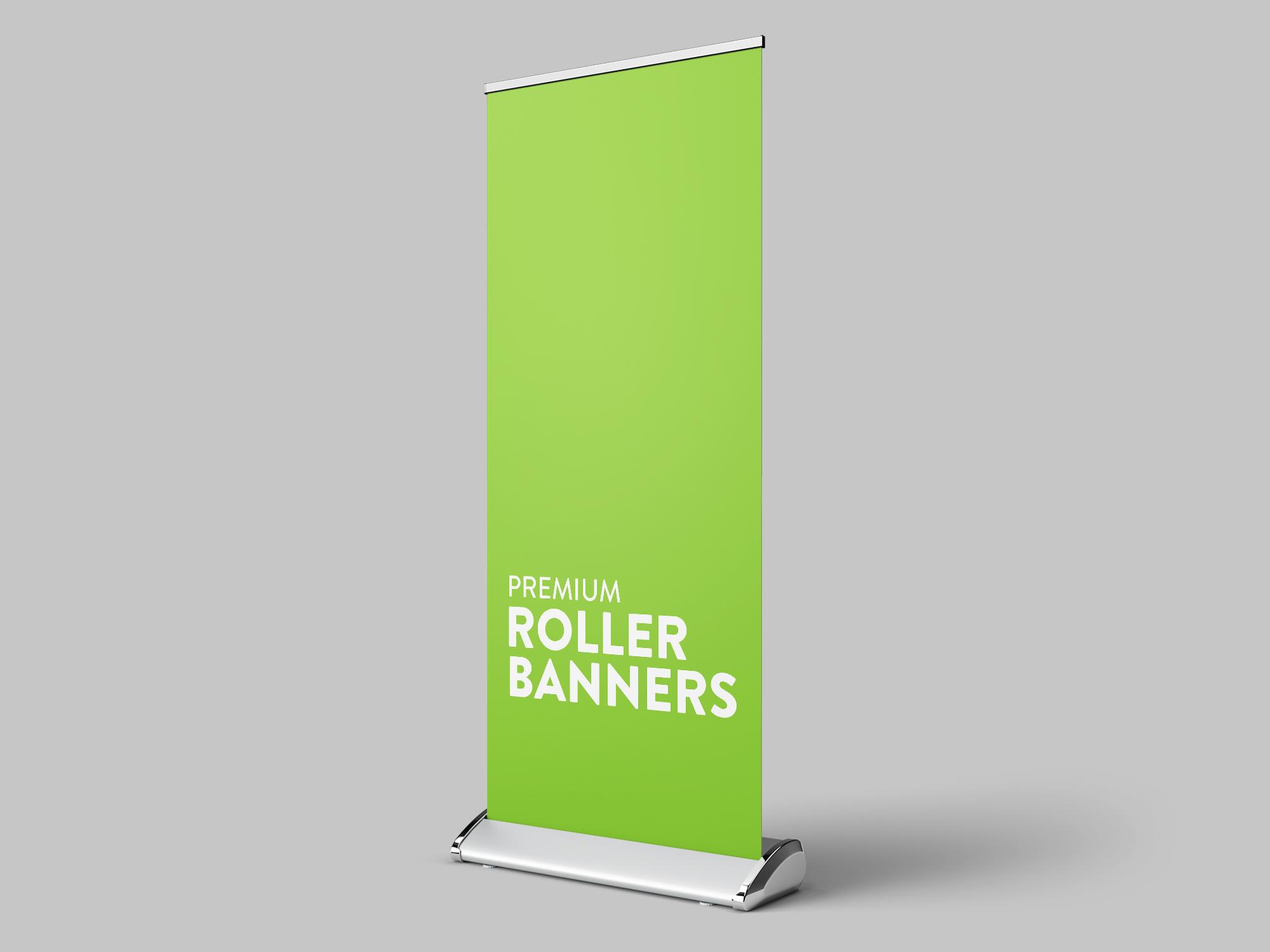 Premium Roller Banner Printing Jersey