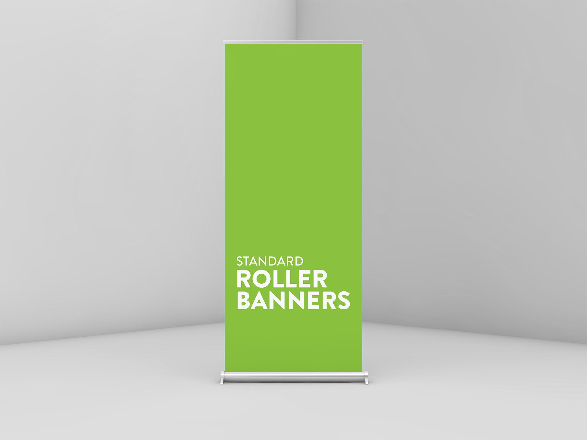 Standard Roller Banner Printing Jersey