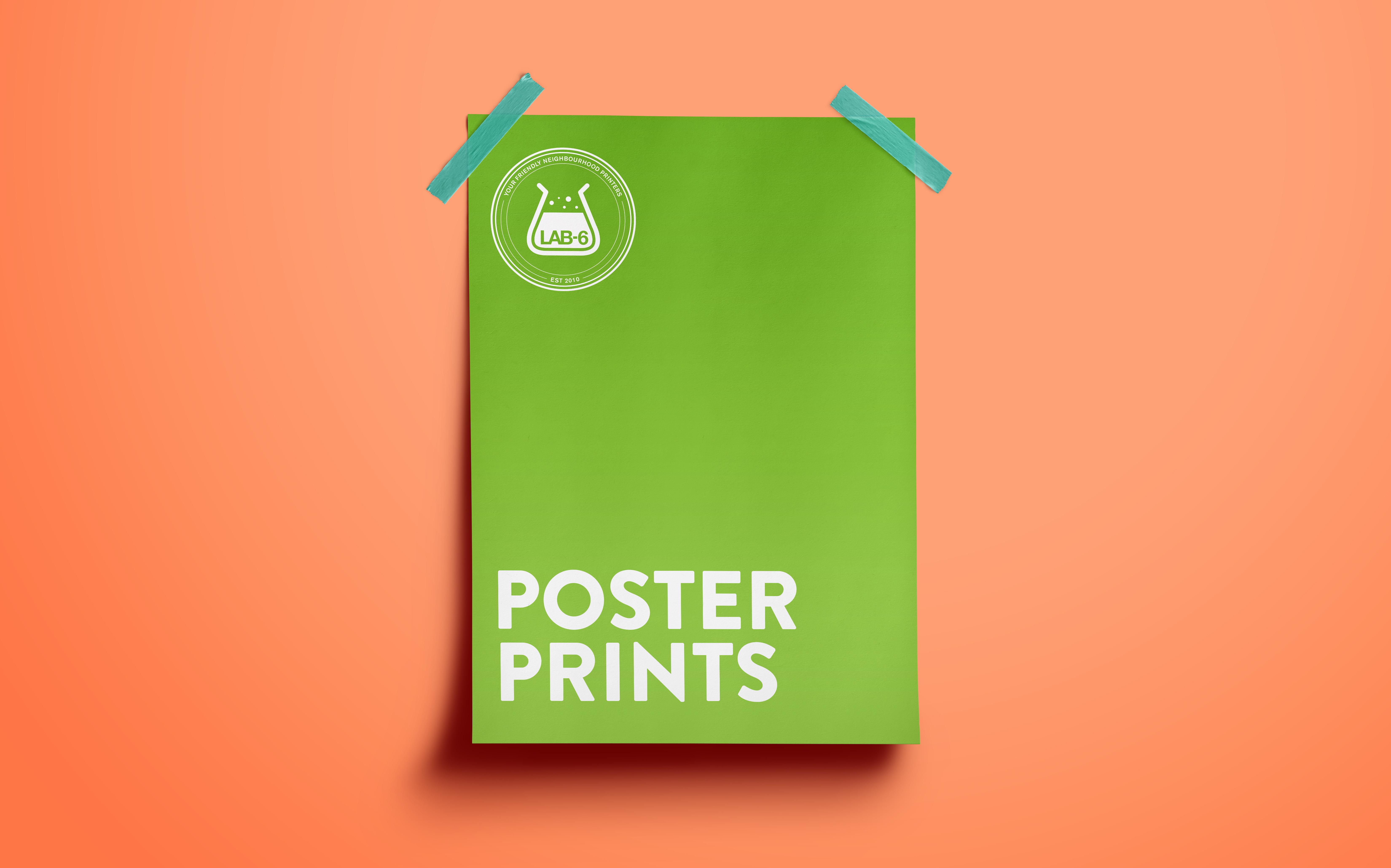 Poster printing Jersey